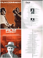 Lot De 13 Magazines -  Film Comment - - Kunst