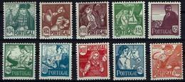 Portugal 1941 - Trachten - MiNr 632-641** - Ungebraucht