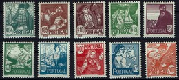 Portugal 1941 - Trachten - MiNr 632-641** - Neufs