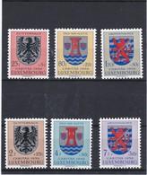 L 133 - Luxembourg Prifix N° 561 à 566 Neufs Sans Charnière ** - Ungebraucht