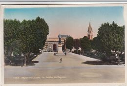 Cp , 34 , MONTPELLIER , Le Jardin Du Peyrou - Montpellier