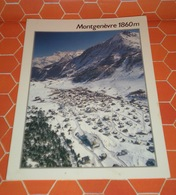 Montgenevre  Alpes FRANCIA CARTOLINA 1995 - Autres Communes