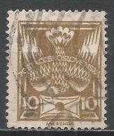 Czechoslovakia 1920. Scott #83 (U) Carrier Pigeon With Letter * - Tchécoslovaquie