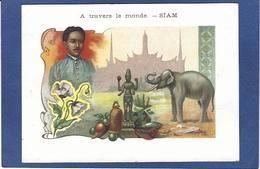 Chromo SIAM éléphant Thaïlande Bangkok 9 X 12,5 - Thailand