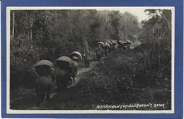 CPA SIAM éléphant Thaïlande Bangkok Non Circulé Carte Photo RPPC - Thailand