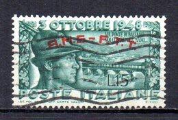 ITALIA TRIESTE 1948 CANCELLED - 7. Triest