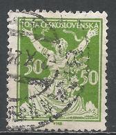 Czechoslovakia 1920. Scott #87 (U) Czechoslovakia Breaking Chain For Freedom * - Tchécoslovaquie