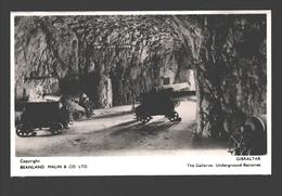 Gibraltar - The Galleries, Underground Batteries - Photo Card / Tarjeta De Foto - Ed. Beanland, Malin & Co - Gibraltar