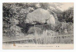CPA 91 . LARDY - LA ROCHE  TOURNANTE . 1921 - Lardy