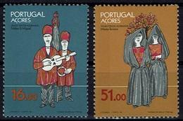 Portugal Azoren - Acores 1984 - Trachten - MiNr 362-363 - Kostüme