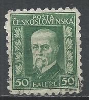 Czechoslovakia 1926. Scott #116 (U) President Masaryk * - Tchécoslovaquie