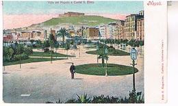 NAPOLI   VILLA  DEL  POPOLO  E  CASTEL  S.  ELMO   TBE     IT682 - Napoli (Naples)