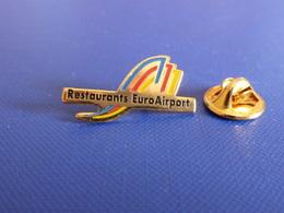 Pin's Restaurants Euro Airport - Aéroport Bâle Mulhouse (Q67) - Airplanes