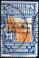 ECUADOR, TASSE POSTALI, 1936, FRANCOBOLLO USATO Scott RA33 - Ecuador