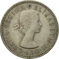 Monnaie, Grande-Bretagne, Elizabeth II, Shilling, 1966, TTB, Copper-nickel - 1902-1971 : Monnaies Post-Victoriennes