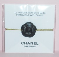 CHANEL * BRACELET * BLACK CAMELIA * - Modernes (à Partir De 1961)