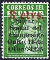 ECUADOR, TASSE POSTALI, 1935, FRANCOBOLLO NUOVO (MLH*) YT B1    Scott RA31 - Ecuador
