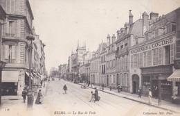 Reims La Rue De Vesle - Reims