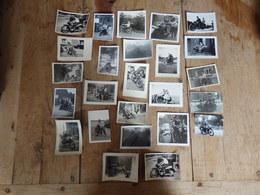 Motos / Moto - Lot De 25 Photos - Format: De 9/6cm à 9/9cm - Moto