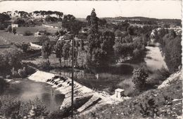 Cp , 34 , CASTELNAU-LE-LEZ , La Chute Et Le Lez , Route Des Clapiers - Castelnau Le Lez