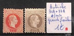 [815961] */Mh-Autriche  - N° 34A/37A, Grande Fraîcheur - Célébrités
