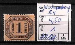 [815996] */Mh-Allemagne 1870 - S4, Wurtemberg - [6] République Démocratique