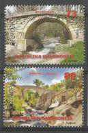 MK 2018-09 EUROPA CEPT, MACEDONIA, 1 X 2v, MNH - Macédoine