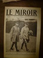 1918 LE MIROIR:Anglais,Ansacs,Canadiens Au Front De La Somme;Exode;Révolution URSS;Chinois à Kharbine;Chemin Des D.; Etc - Riviste & Giornali