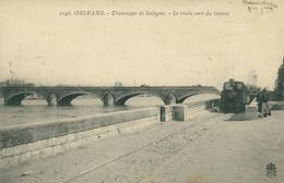 45 ORLEANS / Tramways De Sologne Le Train Sort Du Tunnel / - Orleans