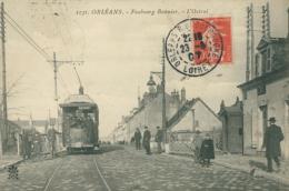 45 ORLEANS / Faubourg Bannier L'Octroi Le Tramway  / - Orleans