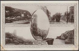 Multiview, Redruth, Cornwall, 1922 - Kingsway RP Postcard - England