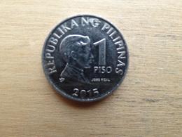 Philippines  1 Piso  2015  Km !!! - Philippines