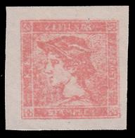 Occupazione Austriaca - Lombardo Veneto: Francobolli Per Giornali / Testa Di Mercurio (L. 1,50) Rosa Smorto - 1851 - 1850-1918 Imperio