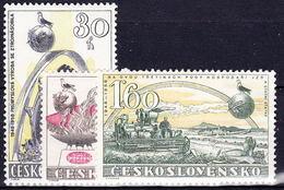 ** Tchécoslovaquie 1958 Mi 1065-7 (Yv 949-51), (MNH) - Unused Stamps