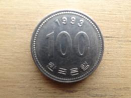 Koree Du Sud  100  Won  1993  Km 35.2 - Corée Du Sud