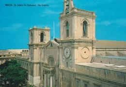 Postcard Malta St John's Co Cathedral The Exterior My Ref  B23025 - Malta
