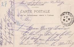 Carte Franchise  De Prisonniers De Guerre De Rochefort  Censure De Rochefort 1915 - Marcophilie (Lettres)