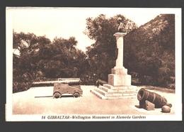 Gibraltar - Wellington Monument In Alameda Gardens - Gibraltar