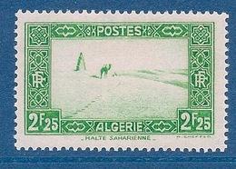 ALGERIE - 121  2F25 VERT NEUF* MLH COTE 24 EUR - Nuevos