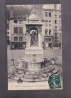 69 RHONE, LYON ,la Fontaine De La Place ST JEAN - Lyon