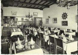 Zeebrugge - Môle -- Hôtel De La Victoire - Son Restaurant.     (2 Scans) - Zeebrugge