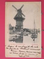 Pays Bas - Amsterdam - De Molen Van De Nieuwe Vaart - CPA Précurseur 1900 - Scans Recto-verso - Amsterdam