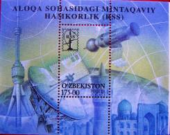 Uzbekistan  2001  10 Years Of RCC  S/S   MNH - Uzbekistan