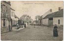 Outarville Rue Du Chateau  Coll. Pommier  Envoi Sabotier à Blet Cher - France