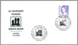 14 CAMPEONATO MUNDIAL SENIOR DE AJEDREZ - XIV World Senior Campionship. Arvier, Aosta, 2006 - Ajedrez