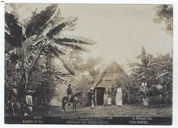 MEXICO - Estado De VERA-CRUZ - Rancho De Cafe - 1896 - Photo Albuminée De Abel Briquet - Fotos
