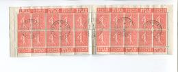 RARE CARNET PUB ANCIEN 199 C3 S 140 EVIAN SOURCE CACHAT Cachet Exposition Philathélique Dijon - Usage Courant