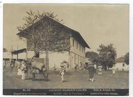 MEXICO - Estado De VERA-CRUZ - RANCHO Llegada De Los Cortadores De Cafe - 1896 - Photo Albuminée De Abel Briquet - Fotos