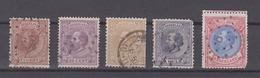 NETHERLANDS 1872-1888 - King William III - Gebraucht