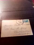 Jolie Mignonette Aff 1951  DAGUIN MUET GIEN - Marcophilie (Lettres)